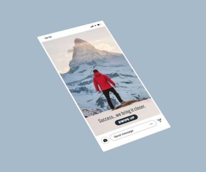 Success Mountain Instagram Story Template