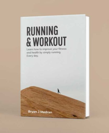 Running and Workout Book Cover Template