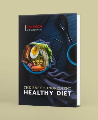Healthy Diet Plan Book Cover Template