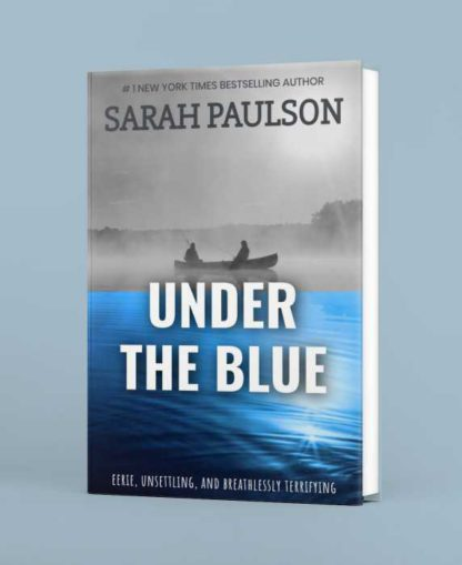 Blue Water Book Cover Template