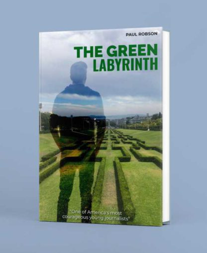 Green Labyrinth Book Cover Maker