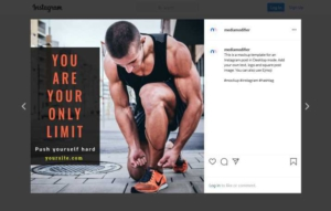 Running Motivation Instagram Post Template