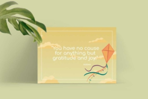 Quotes Greeting Card Template