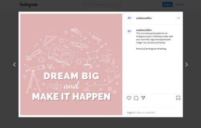 Learning Quote Instagram Post Template