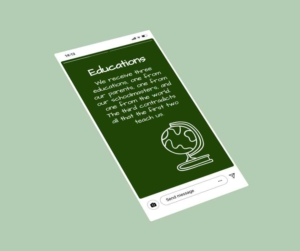 Educations Quote Template (globe)