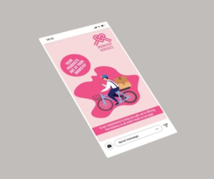 Delivery Service Instagram Story Template
