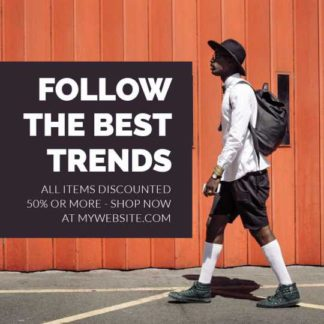 Mens Fashion Trends Banner Maker