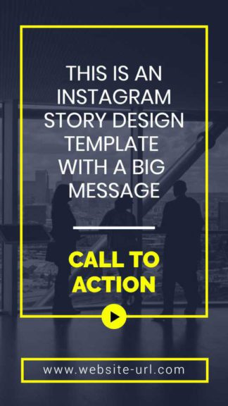 Business Call to Action Instagram Story Maker
