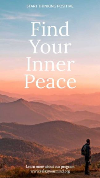 Inner Peace Instagram Story Maker