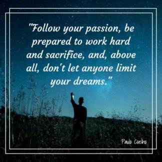 Passion Motivation Quote Banner Maker