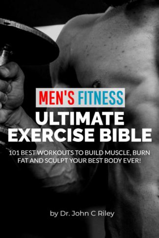 Mens Fitness Workout Book Cover Design