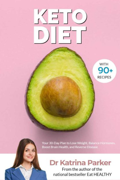 Keto Diet and Fitness eBook Cover Maker