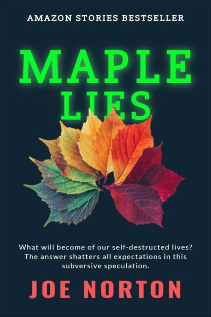 Colorful Leafs eBook Cover Template