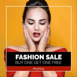Free Fashion Sales Instagram Post Maker