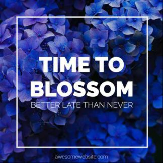 Free Flower Blossom Instagram Post Maker