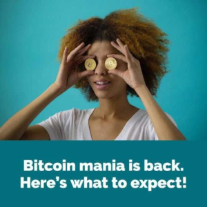 Free Bitcoin Mania Instagram Post Template