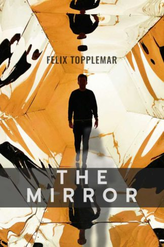 Thriller Mirror Horror Book Cover Template