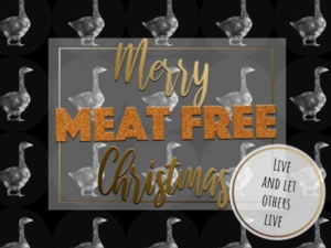 Meat Free Christmas Card