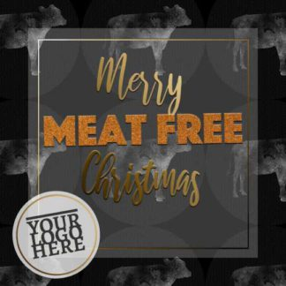 Merry MEAT FREE Christmas Instagram Post