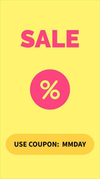 Sale Announcement With Coupon Code Instagram Story Maker