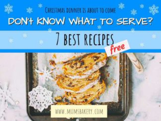 Christmas Dinner Recipes Facebook Post Template
