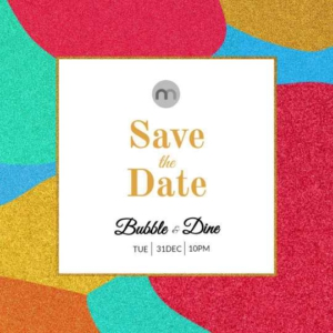 Save the Date Instagram Post Design Template