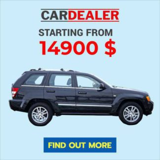 Automobile Offer Banner Template