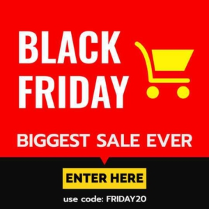 Black Friday Holiday Sales Offer Banner