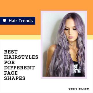 Hair and Fashion Instagram Post Template