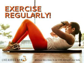 Fitness Ad Facebook Post Template