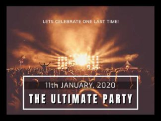 Party Invite Facebook Post Template