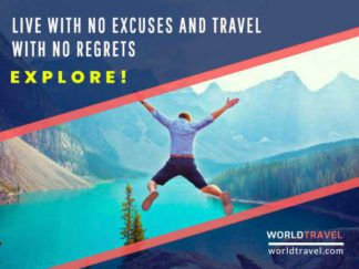 Travel Agency Facebook Post Template
