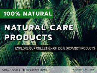Organic Products Facebook Post Template