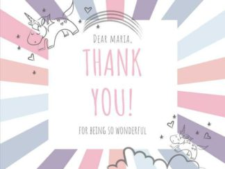 Thank You Card Facebook Post Template