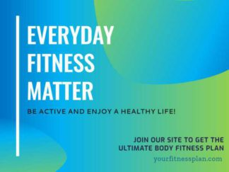 Fitness Plan Ad Facebook Post Template