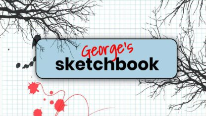 Sketchbook Youtube Channel Cover Template