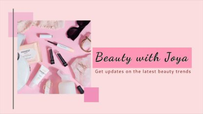Beauty and Makeup Youtube Channel Art