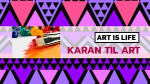 Art and Crafts Youtube Channel Art