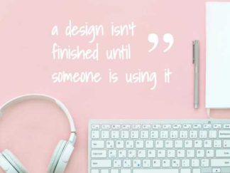 Design Quote Facebook Post Template
