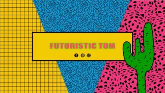 Pop Art Youtube Cover Banner