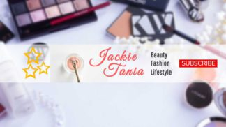 Makeup & Lifestyle Youtube Cover Maker