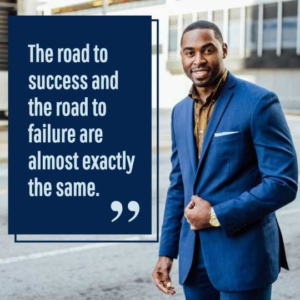 Road to Success Instagram Post Template