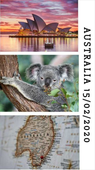 Travel Collage Instagram Story Template