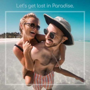 Lost in Paradise Instagram Post Template
