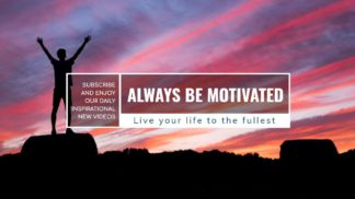 Motivational Youtube Channel Banner