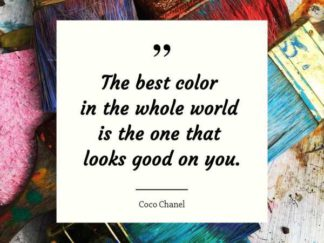 Color Quote Facebook Post Template