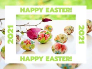 Happy Easter Facebook Post