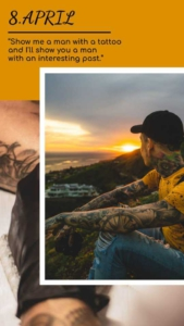 Tattoo Instagram Story Template