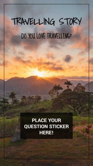 Travelling Instagram Story Question Template