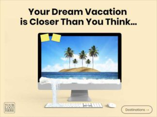 Travel Agency Facebook Ad Template